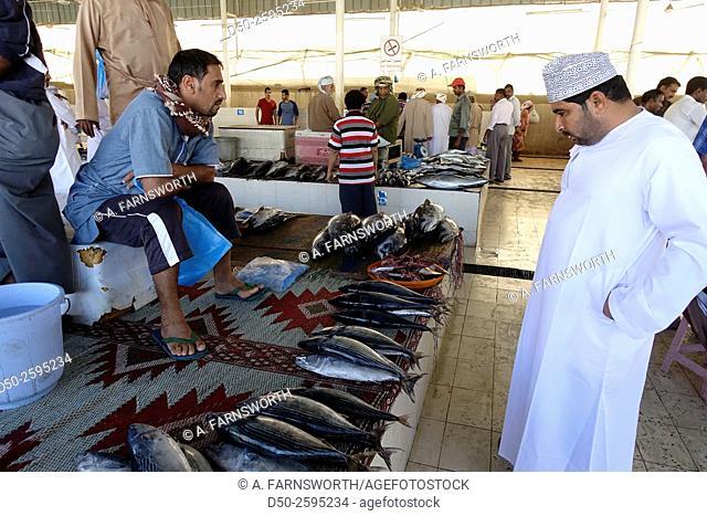MUSCAT, OMAN Fish market