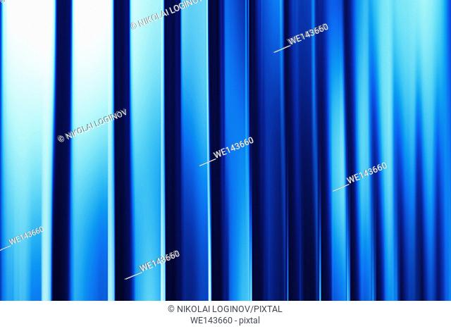 Vertical blue curtains illustration background. Vertical blue curtains background