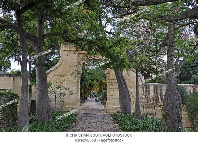 gardens of San Anton Palace (Il-Palazz Sant'Anton), Attard, Malta, Mediterranean Sea, Southern Europe