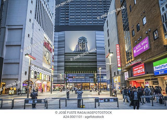 Japan , Tokyo City, Shinjuku District, Kabukicho area,