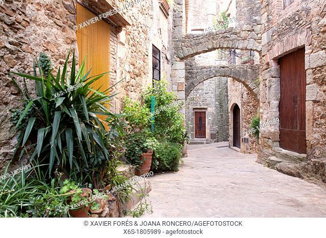 Pals, Costa Brava, Girona, Spain