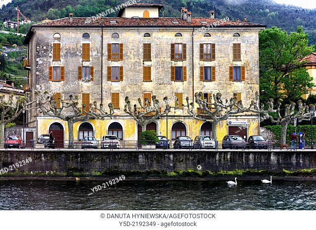 Bellano - small town on the eastern shore of Lake Como, Province of Lecco, Lombardy, Italy