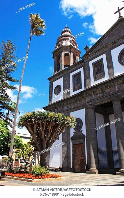 La Concepcion church, San Cristóbal de La Laguna, Tenerife. Canary Islands, Spain