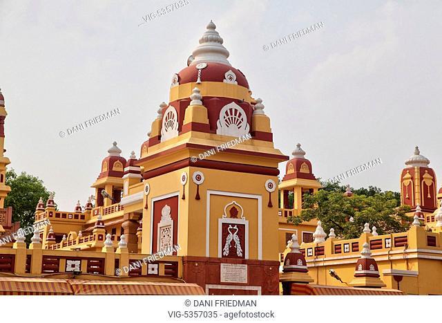 Lakshmi Narayan Temple in New Delhi, India. The Lakshmi Narayan Temple (also known as the Birla Temple, Birla Mandir, Laxminarayan Temple and the Laxmi Narayan...
