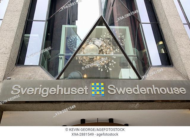 Swedenhouse - Sverigehuset, Kingâ. . s Garden - Kungstradgarden; Stockholm, Sweden