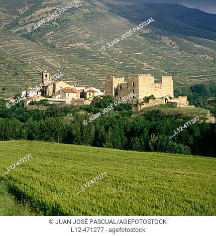 Yanguas. Soria province, Castilla-León, Spain