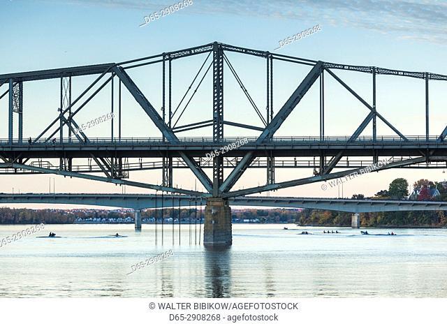 Canada, Ontario, Ottowa, capital of Canada, Alexandria Bridge