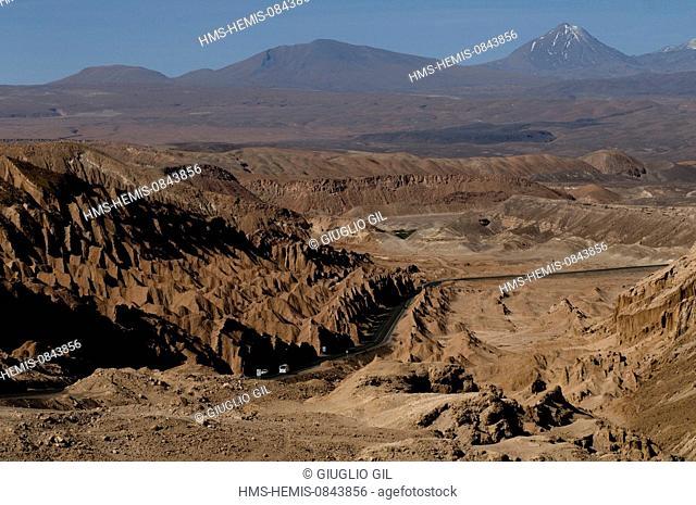 Chile, Antofagasta Region, El Loa province, Atacama Desert, Donosaur Valley near San Pedro oasis