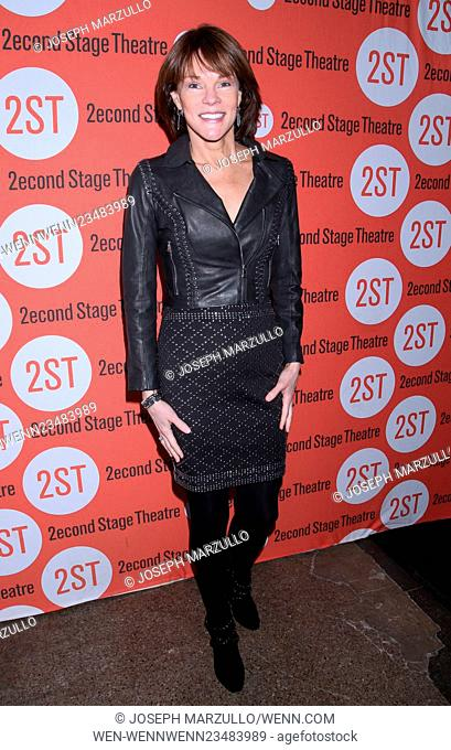 Opening night for Smart People at the Second Stage Theatre - Arrivals. Featuring: Carolyn McCormick Where: New York, New York