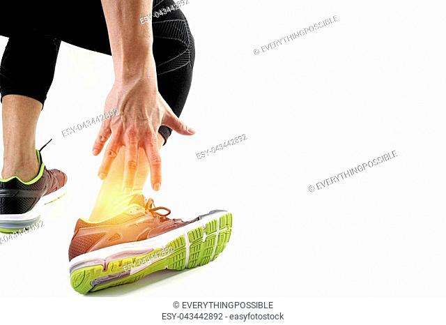 Twisted broken ankle Stock Photos and Images | age fotostock