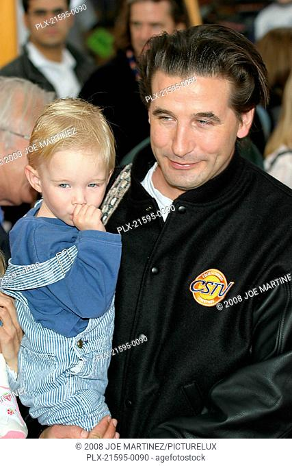 Dr. Seuss's: The Cat in the Hat Premiere 11-8-03 William Baldwin & son Photo By Joe Martinez