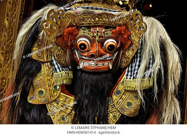 Barong Masks, Bali, Stock Photo, Picture And Rights Managed