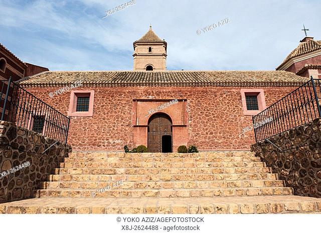 Spain, Murcia region, Totana, Santa Eulalia Monastery