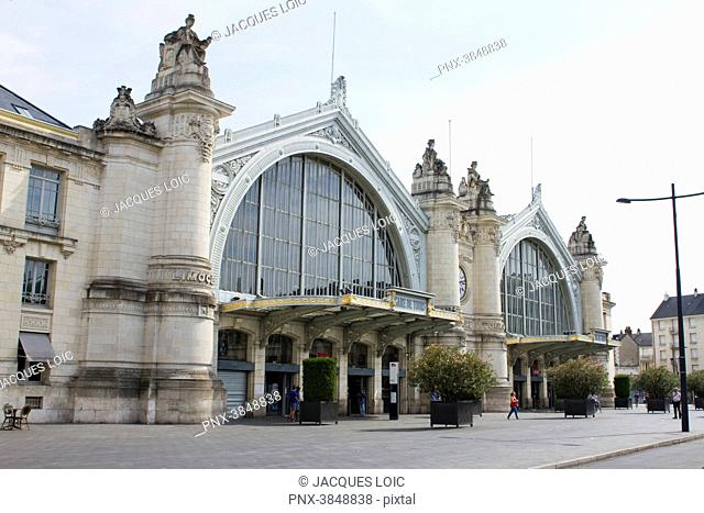 France, Tours, SNCF station