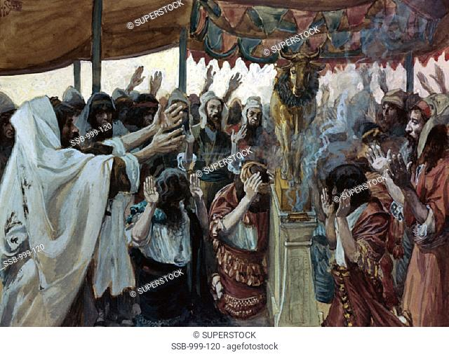 The Golden Calf James J. Tissot (1836-1902/ French) Jewish Museum, New York