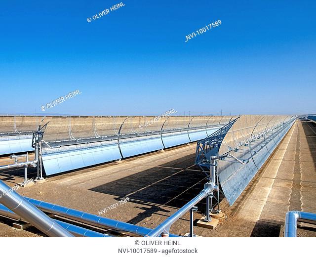 Solar thermal power plant Andasol 1, Guadix, Spain, Europe