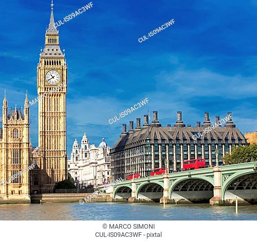 Big Ben and Houses of Parliament, London, UK