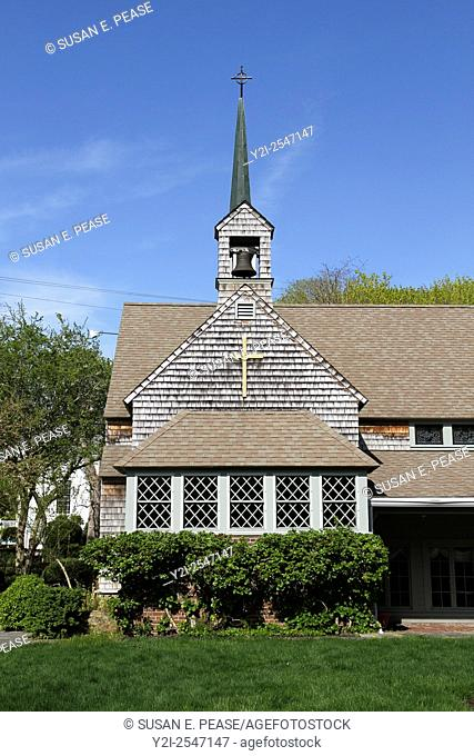 St. Mary's Episcopal Church, Barnstable, Massachusetts, United States, North America
