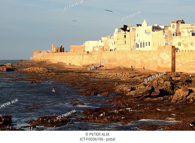 Morocco, Essaouira, remparts of the medina