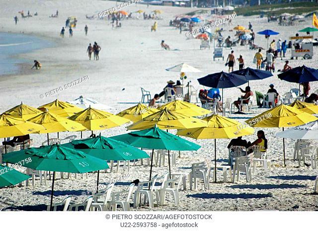 Brazil, Rio de Janeiro, Cabo Frio, Praia do Forte, Fort Beach