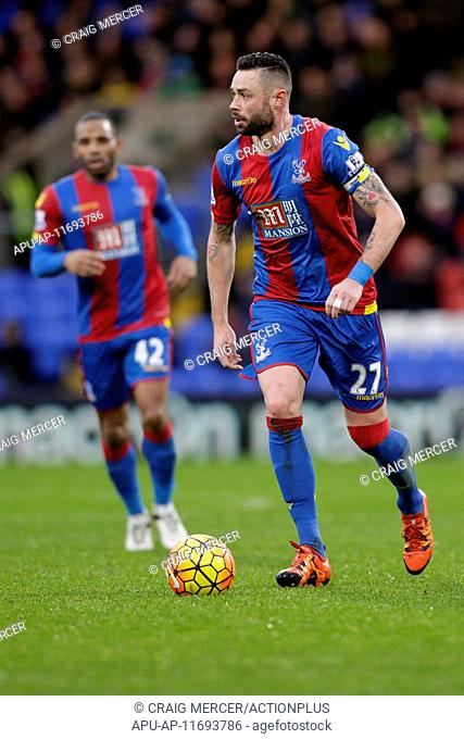 2016 Barclays Premier League Crystal Palace v Chelsea Jan 3rd. 03.01.2016. Selhurst Park, London, England. Barclays Premier League