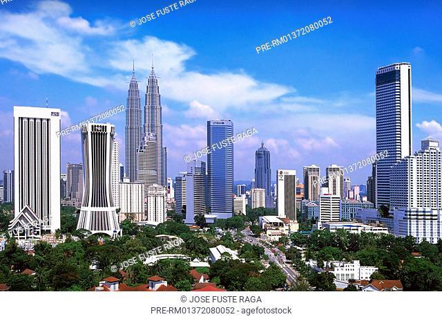 Petronas Towers, Kuala Lumpur City, Malaysia, Asia