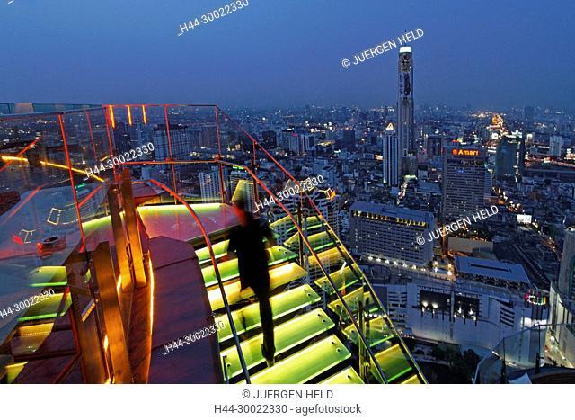 Red Sky Rooftop Bar at Centara Grands Bangkok , Thailand