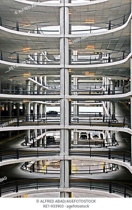 T1 car park, Barcelona's airport, Catalonia, Spain