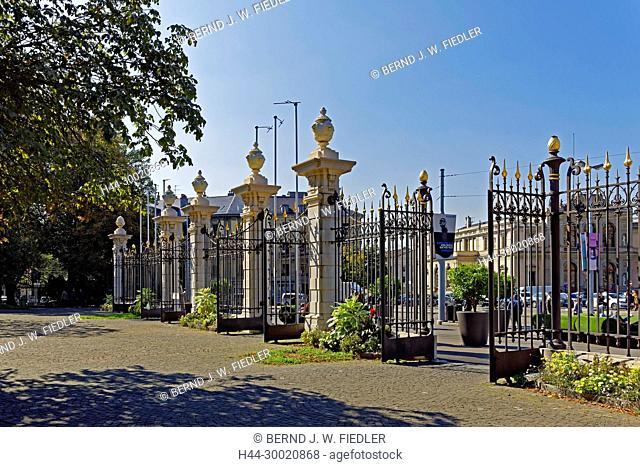 Eingang, Parc des Bastions