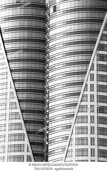 Glass cladding at Central World Plaza Bangkok
