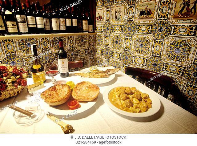Casa Leopoldo restaurant. Barcelona. Spain