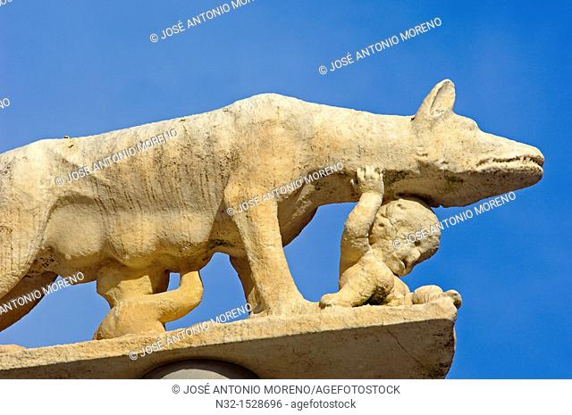 Siena, Duomo, Duomo, Romulus and Remus, Cathedral, Duomo Cathedral , UNESCO World Heritage Site, Tuscany, Italy
