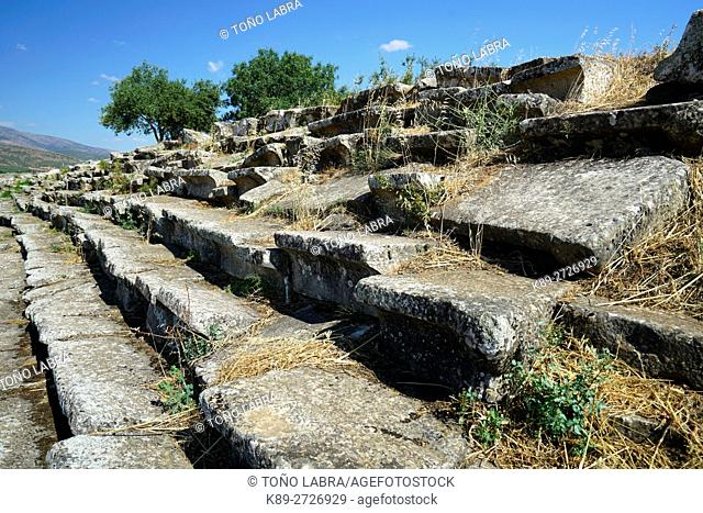 Aphrodisias Stadium. Ancient Greece. Asia Minor. Turkey