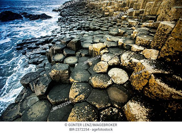 Basalt rocks, Giant Causeway, Coleraine, Northern Ireland, United Kingdom, Europe