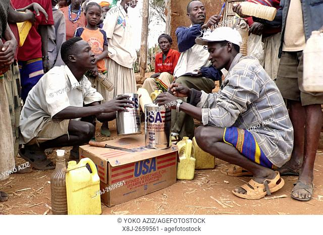 ethiopia, omo valley, konso people, Humanitarian Aid from usa