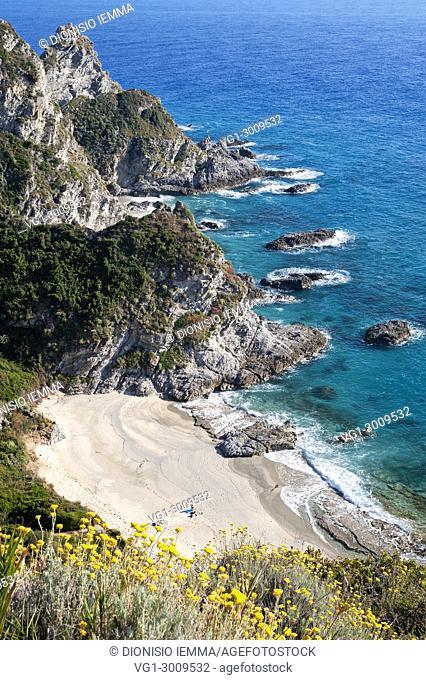 Capo Vaticano, Tyrrhenian coast, Vibo Valentia district, Calabria, Italy, Europe