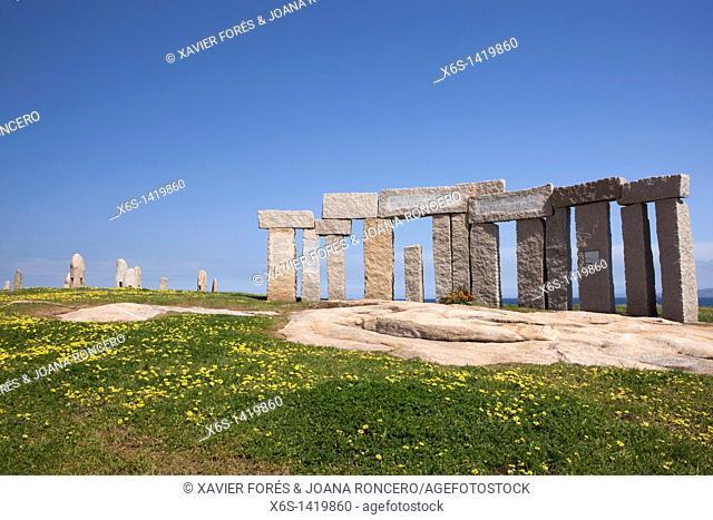 Park of Tower Hercules, A Coruña, Galicia, Spain