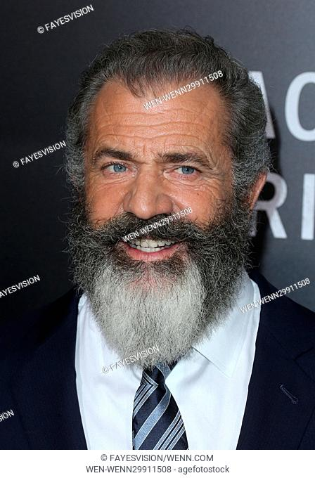 "Screening Of Summit Entertainment's """"Hacksaw Ridge"""" Featuring: Mel Gibson Where: Beverly Hills, California, United States When: 24 Oct 2016 Credit:..."