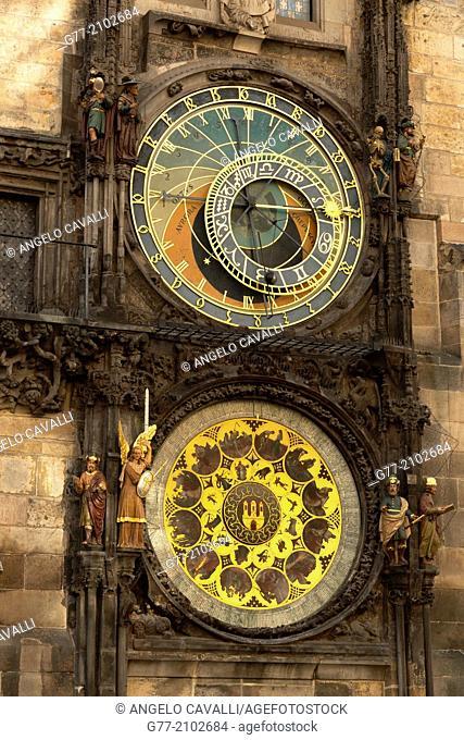 Czech Republic. Prague. The Old Town. The Astronomic Clock