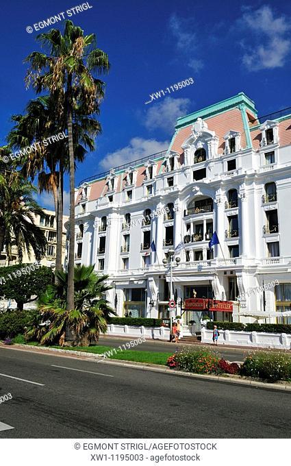famous Hotel Negresco, Nice, Nizza, Cote d'Azur, Alpes Maritimes, Provence, France, Europe
