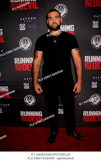 "Weston Coppola Cage 09/16/2019 """"Running with the Devil"""" premiere held at Writers Guild Theater in Beverly Hills, CA Photo by I"