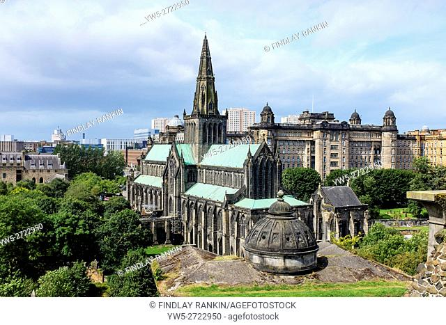 Glasgow Cathedral, Glasgow, Scotland, UK