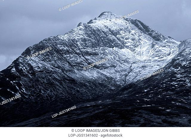 A view of the mountain Blaven on the Isle of Skye