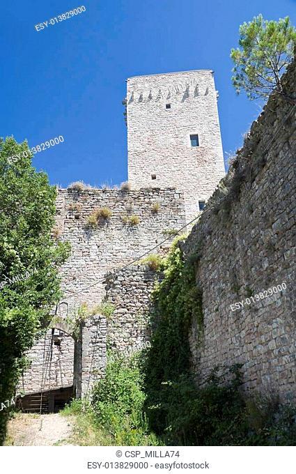 Minor Fortress. Assisi. Umbria