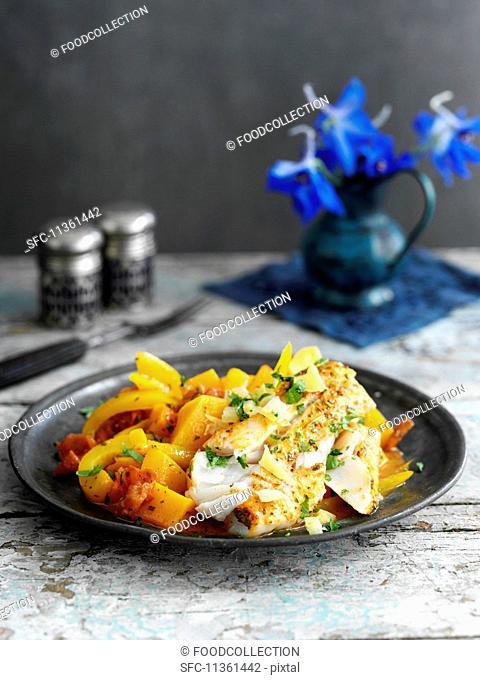 Fish tagine with lemons