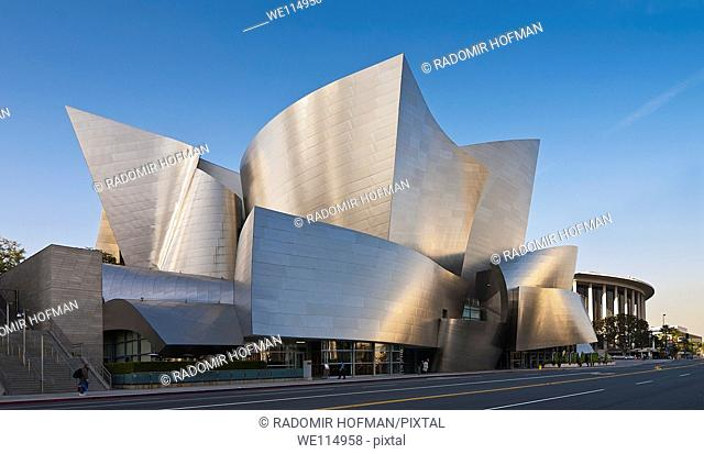 Disney Concert Hall, Los Angeles-California, USA