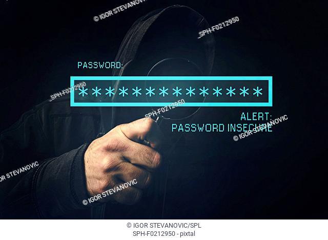 Password insecure alert