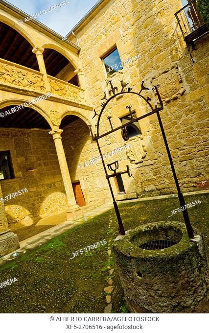Palacio de los Águila, 16th-17th century, Independence Spanish War Museum, Historic Artistic Monument, Ciudad Rodrigo, Medieval Town