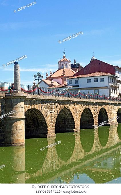 Roman bridge of Chaves, Portugal
