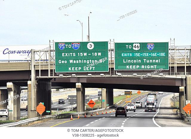 exit signs to New York City off Rt95